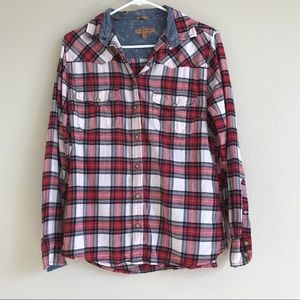 JACHS Girlfriend | Bea Plaid Shirt